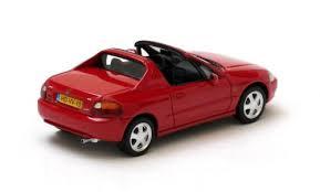 Honda CRX Del Sol 1992 Rood 1-43 Neo Scale Models