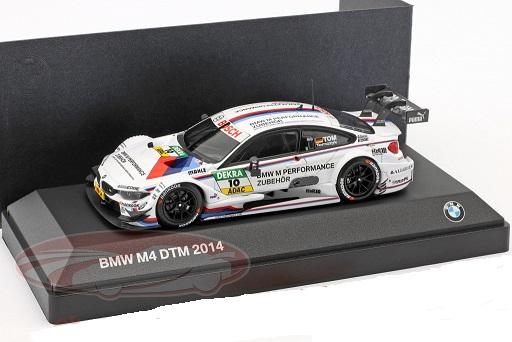 BMW M4 DTM #10 DTM 2014 Martin Tomczyk 1:43 Minichamps