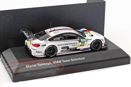 BMW M4 DTM #77 DTM 2015 BMW M Performance Parts Martin Tomczyk 1:43 Minichamps
