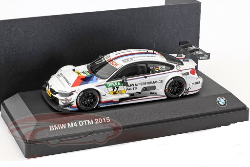 BMW M4 DTM #77 DTM 2015 BMW M Performance Parts Martin Tomczyk 1:43 Minichamps