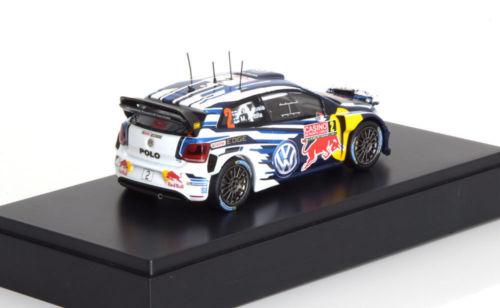 """Volkswagen Polo WRC R Nr# 2 """"Monte Carlo 2015"""" Latvalla"""" 1-43 Spark"""