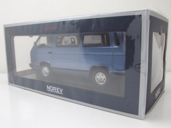 "Volkswagen T3 Bus ""Bluestar"" 1990 Blauw 1-18 Norev Limited 1200 Pieces"