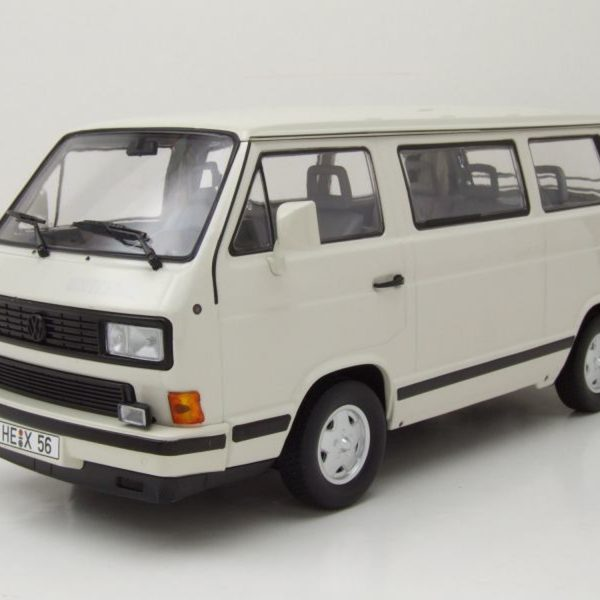 "Volkswagen T3 Bus ""Whitestar"" 1990 Wit 1-18 Norev Limited 1000 Pieces"