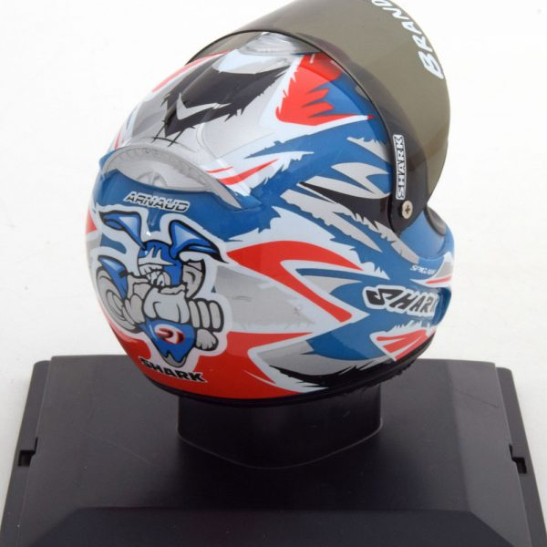 Helm 125CC World Champion 2002 Arnaud Vincent 1-5 Altaya