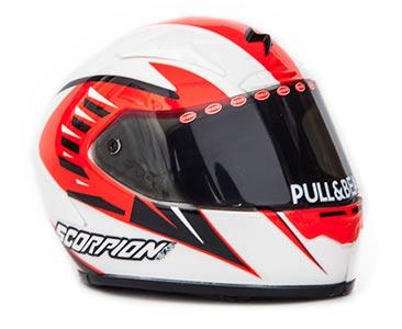 "Helm Moto GP 2013 ""Scorpion"" Nico Terol 1-5 Altaya"