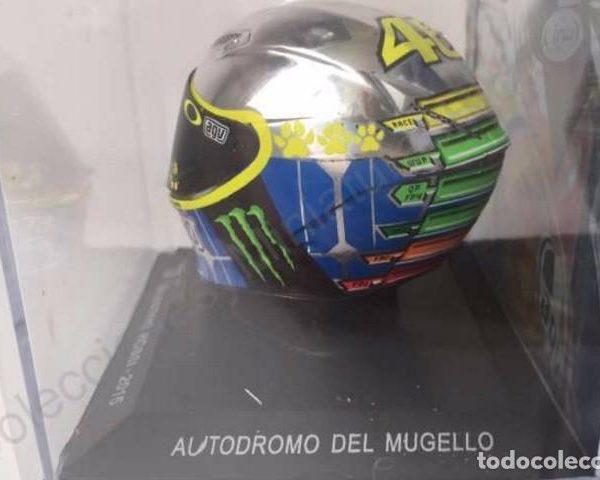Helm Moto GP Mugello Valentino Rossi 1-5 Altaya