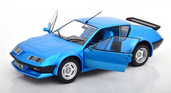Renault Alpine A310 V6 Pack GT Blauw Metallic 1-18 Solido