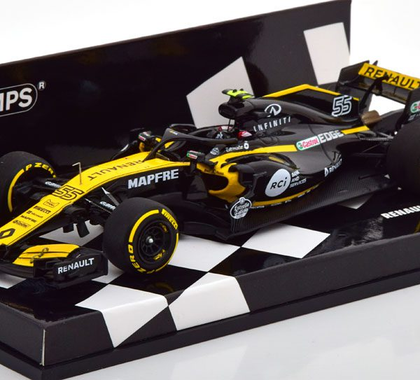 Renault R.S.18 F1 Team Showcar 2018 C.Sainz Minichamps 1:43 Limited Edition 150 pcs.