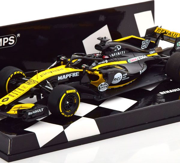 Renault R.S.18 F1 Team Showcar 2018 H.Hulkenberg Minichamps 1:43 Limited Edition 150 pcs.