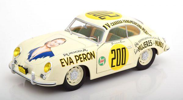 Porsche 356 PRE-A No.200, Carrera Panamericana 1963 Eva Peron 1:18 Solido