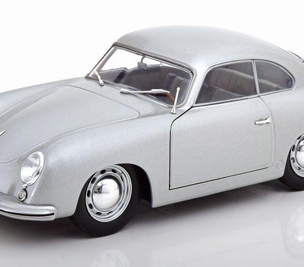 Porsche 356 PRE-A 1963 Zilver 1-18 Solido