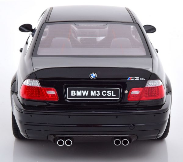 BMW M3 CSL ( E46 ) Coupe 2003 Zwart 1-12 Ottomobile Limited 999 Pieces