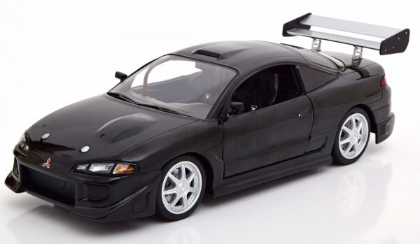 Mitsubishi Eclipse 1995 Zwart 1-18 Greenlight Collectibles