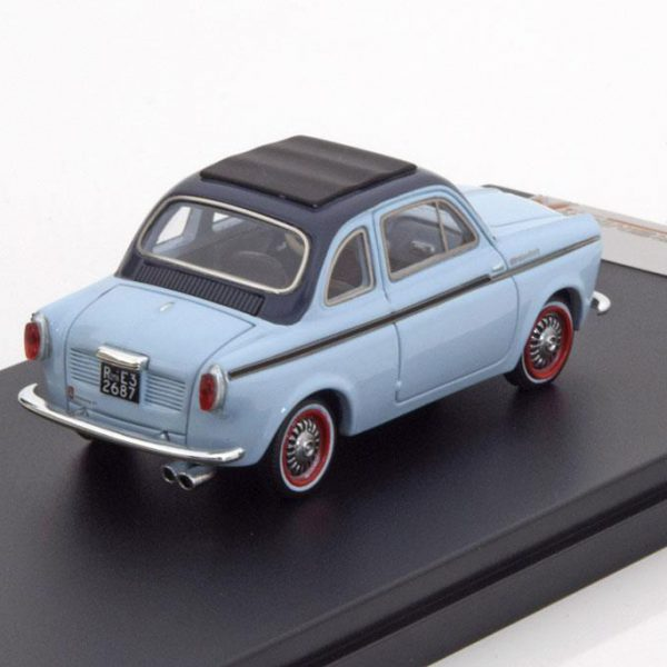 NSU Fiat Weinsberg 500 1960 Licht Blauw 1-43 PremiumX