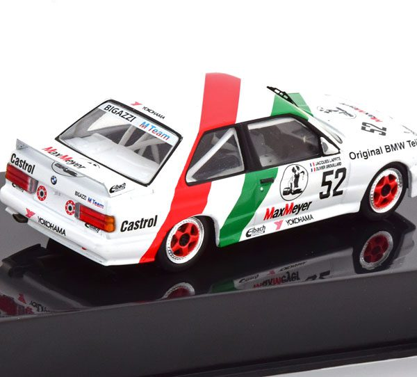 BMW M3 E30 No.52, ETCC 1988 Laffite/Grouillard 1-43 Ixo Models