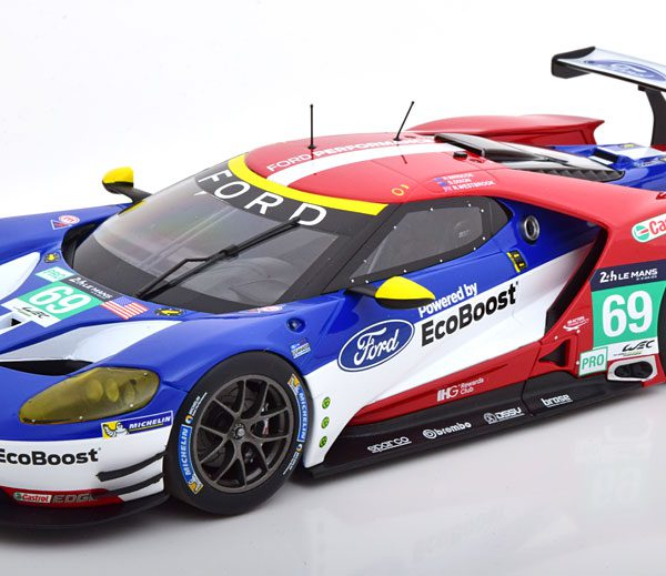 Ford GT No.69, 24h Le Mans 2016 Briscoe/Westbrook/Dixon 1-18 Minichamps Limited 300 Pieces