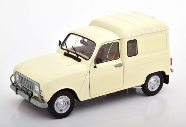 Renault 4LF4 1975 Wit 1-18 Solido
