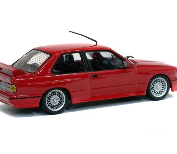 BMW E30 M3 1988 Rood 1-43 Solido