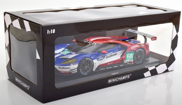 Ford GT Nr# 68 Sieger LM GTE Pro Class 24h Le Mans 2016 Hand/Müller/Bourdais 1-18 Minichamps Limited 1002 Pieces