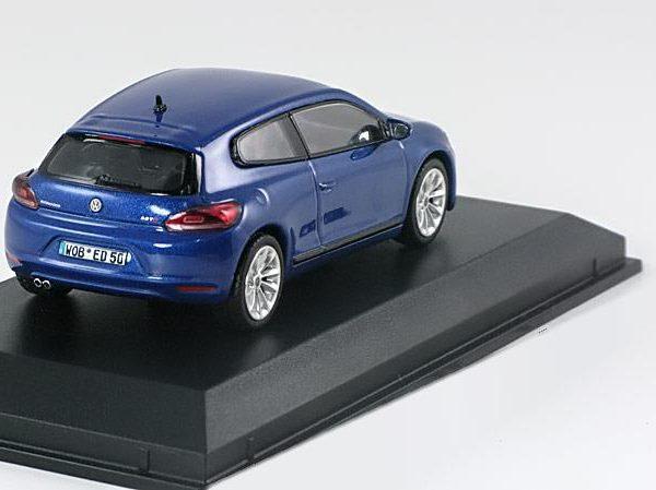 Volkswagen Scirocco 3 2008 Blauw Metallic 1-43 Norev