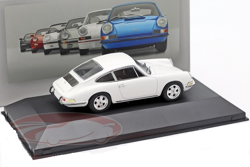 Porsche 911 S 1967 Wit 1:43 Atlas Porsche Collection