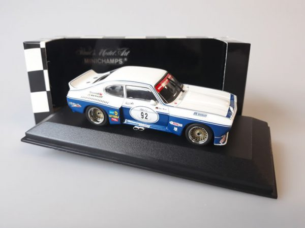 Ford Capri 3100 RS #92 FIA European Challenge Zolder 2005 Peter Muecke-1-43 Minichamps Limited Edition of 2.160 pcs.