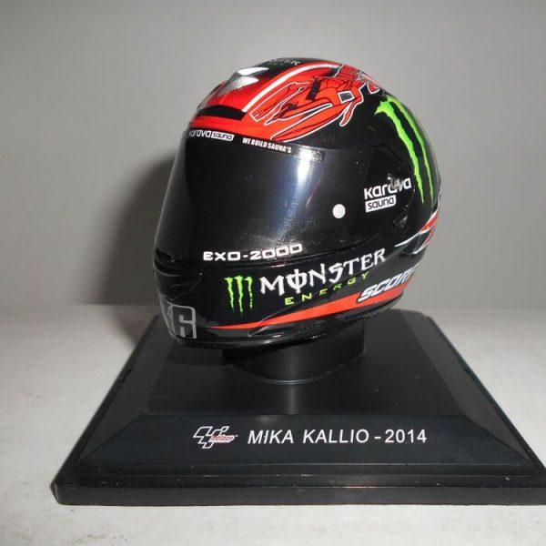 """Helm Moto GP 2014 """"Monster """"Mika Kallio 1-5 Altaya"""