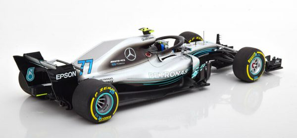 Mercedes AMG Petronas Formula One Team F1 W09 EQ Power+ #77 2018 Valleri Bottas 1-18 Minichamps