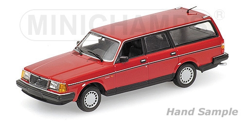 Volvo 240 GL Break 1986 Rood 1:18 Minichamps Limited