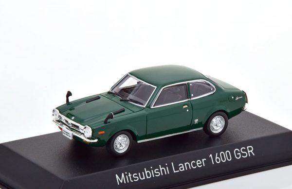 Mitsubishi Lancer 1600 GSR 1973 Groen 1-43 Norev