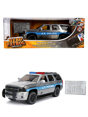 Chevy Tahoe 2010 J.T. Police 20th Anniversary 1-24 Jada Toys