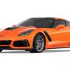 Chevrolet Corvette ZR1 2019 Oranje 1-24 Motormax
