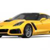 Chevrolet Corvette ZR1 2019 Geel 1-24 Motormax