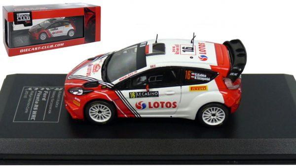 Ford Fiesta RS WRC #16 Kubica/Szczepaniek Rally Monte Carlo 2016 Atlas Diecast Club 1-43