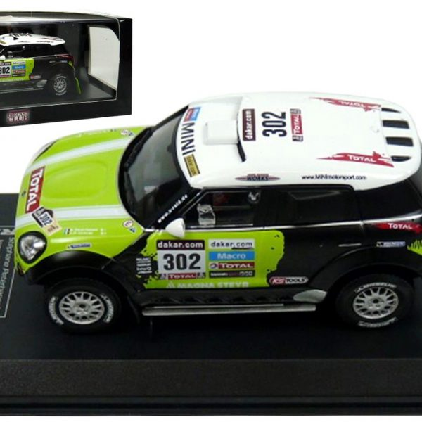 Mini ALL4 Racing #302 Peterhansel/Cottret Dakar Rally 2013 Atlas Diecast Club 1-43