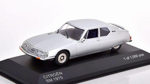 Citroen SM 1970 Zilver 1-43 Whitebox Limited 1000 Pieces