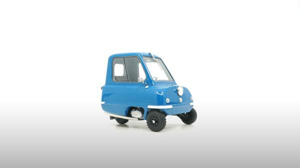 Peel P50 1964 Blauw 1-18 DNA Collectibles Limited 320 Pieces