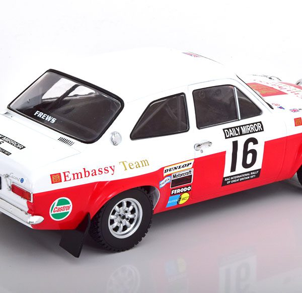 Ford Escort MK1 RS1600 #16 RAC Rally 1971 T.Makinen-H.Liddon 1:18 Ixo-Models