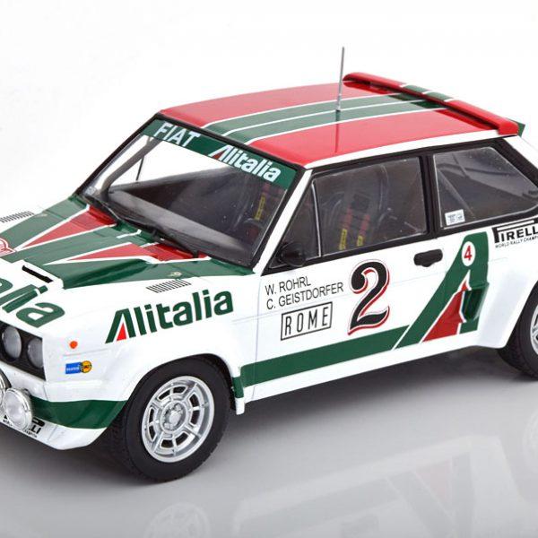 Fiat 131 Abarth No.2, Rally Monte Carlo 197 Italia Röhrl/Geistdörfer 1-18 Ixo Models