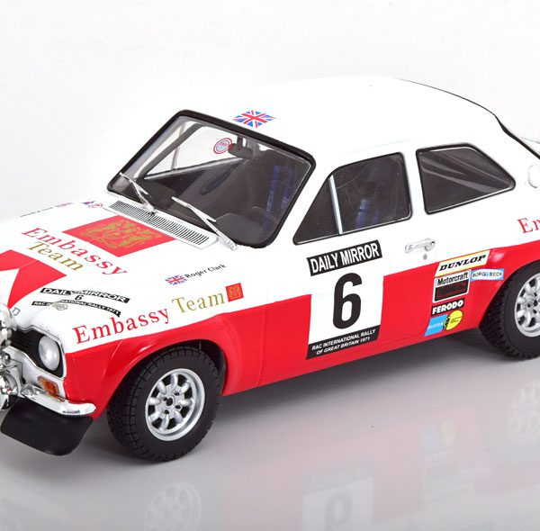 Ford Escort MK1 RS1600 #6 RAC Rally 1971 E.Clark-J.Porter 1:18 Ixo-Models