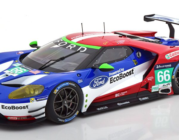 Ford GT No.66, 24h Le Mans 2016 Pla/Mücke/Johnson 1-18 Minichamps Limited 300 Pieces