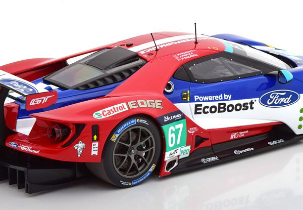 Ford GT No.67, 24h Le Mans 2016 Franchitti/Priaulx/Tincknell 1-18 Minichamps Limited 300 Pieces