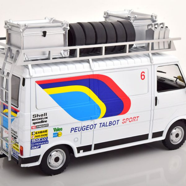 Citroen C35 Peugeot Talbot Sport Assistance 1985 Wit 1-18 Ixo Models