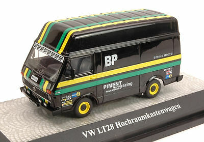 Volkswagen LT28 Bus BP Motorsport Racing Black Zwart 1/43 Premium Classixxs Limited 500 Pieces