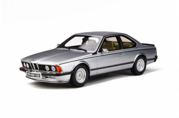 BMW E24 635 CSI 1982 Polaris Zilver Metallic 1-18 Ottomobile Limited 2000 Pieces