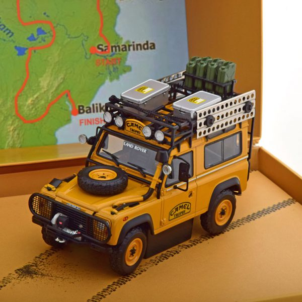 Land Rover 90 Camel Trophy Borneo 1985 ( met Extra's ) 1-43 Almost Real