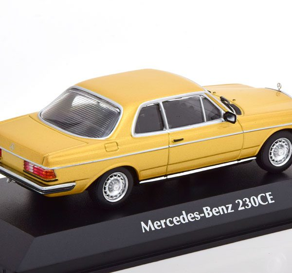 Mercedes-Benz 280 CE ( C123 ) Coupe1976 Goud Metallic 1-43 Maxichamps