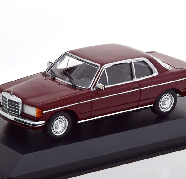 Mercedes-Benz 280 CE ( W123) Coupe 1976 Donkerrood 1-43 Maxichamps