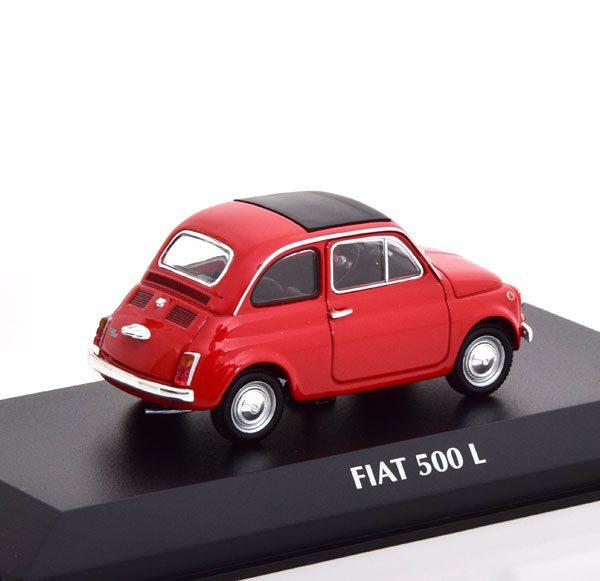 Fiat 500 L 1965 Rood 1-43 Maxichamps