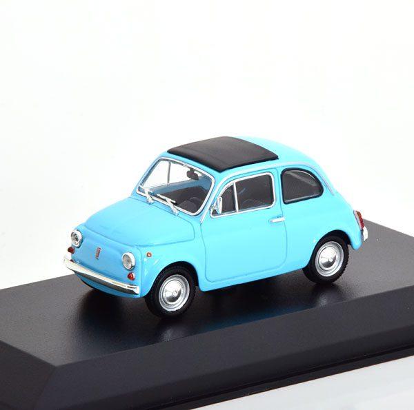 Fiat 500 L 1965 Lichtblauw 1-43 Maxichamps